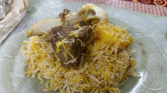 Arselan's Mutton Biriyani